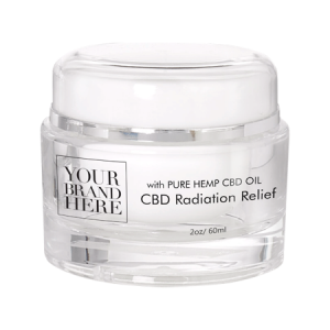 CBD Radiation Skin Relief Cream