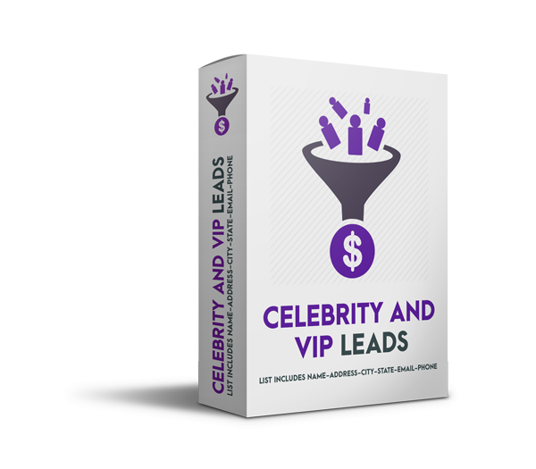 Celebrity and VIP Leads