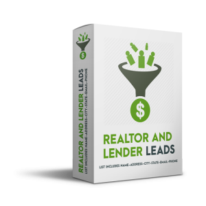 Realtor and Lender Leads