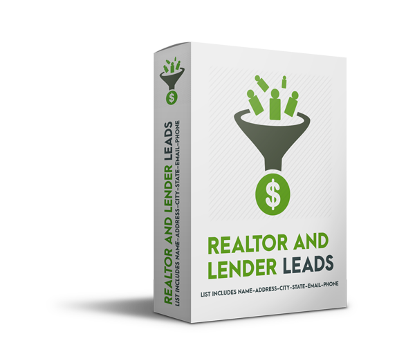 realtor and lender leads - Realtor and Lender Leads