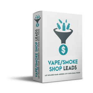 Vape and Smoke Shop Leads
