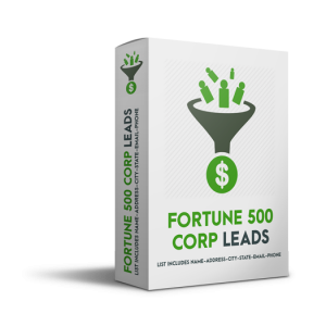 Fortune 500 Corporate Leads