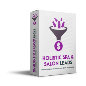 Holistic Spa and Salon Leads
