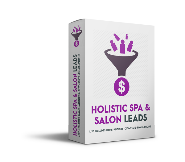holistic spa salon leads - Holistic Spa and Salon Leads