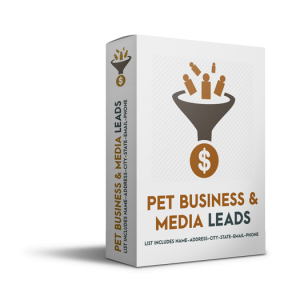 Pet Business Buyer and Media Leads