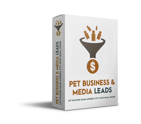 pet business and media leads - Pet Business Buyer and Media Leads