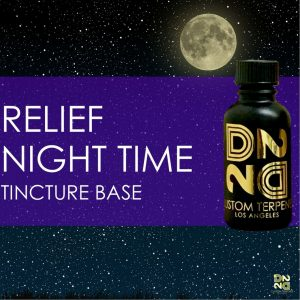 Night Time Relief Tincture Base Terpene